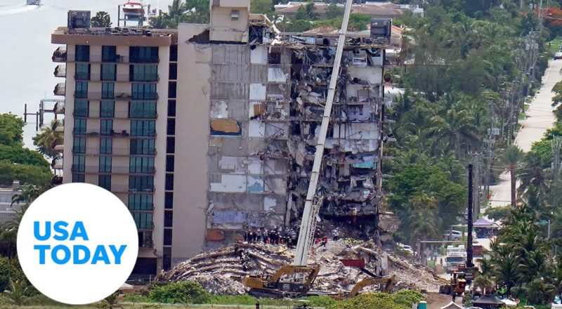 Authorities update search at Miami-area condo collapse site | USA TODAY 1