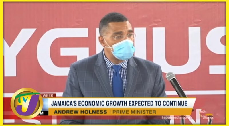 Jamaica's Economic Growth Expected to Continue   TVJ Business Day - July 9 2021 1