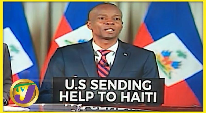 US Sending Help to Haiti   TVJ News - July 9 2021 1