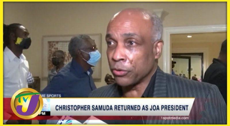 Christopher Samuda Returned as JOA President - July 10 2021 1