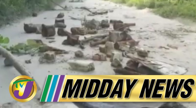 Cuba's Covid Vaccine | Residents Protest Bad Roads in St. James, Jamaica - July 12 2021 1