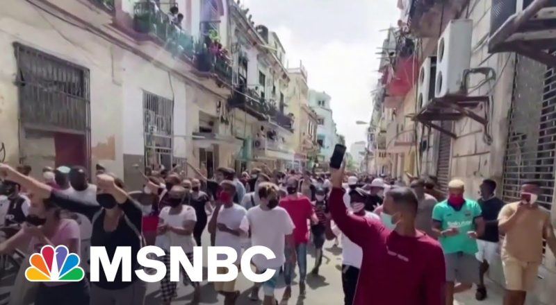 Robles: 'The Government [Will] Succeed In Putting A Stop To' Cuba Protests 5