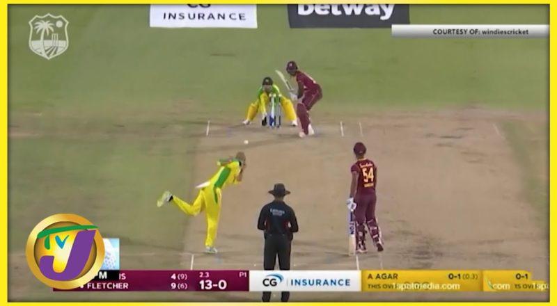 Hetmyer Leads Windies to 56 Runs win Over Australia 1