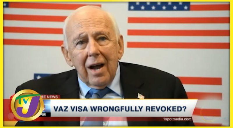 Vaz Visa Wrongfully revoked?   TVJ News - July 12 2021 1