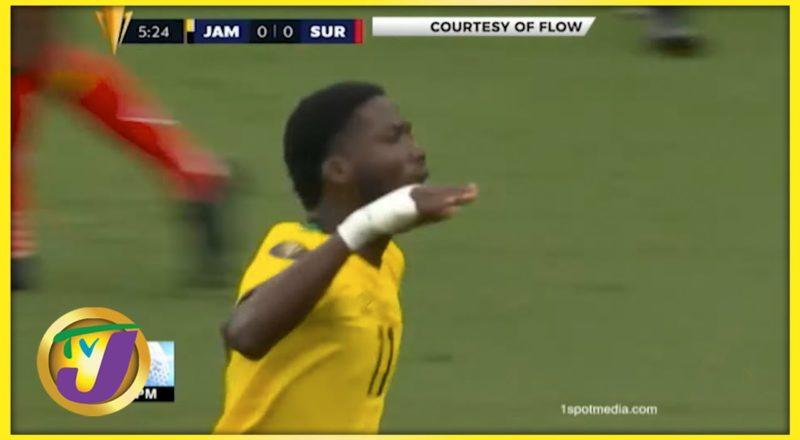Jamaica Reggae Boyz vs Suriname 2-0 Gold Cup 2021 - July 12 2021 1