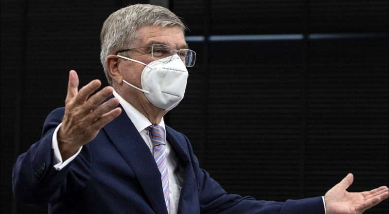 IOC president makes gaffe, refers to Japanese as 'Chinese' 8