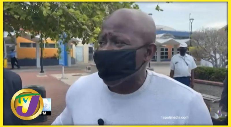 Former Reggae Boyz Striker Paul Hall   TVJ Sports 1