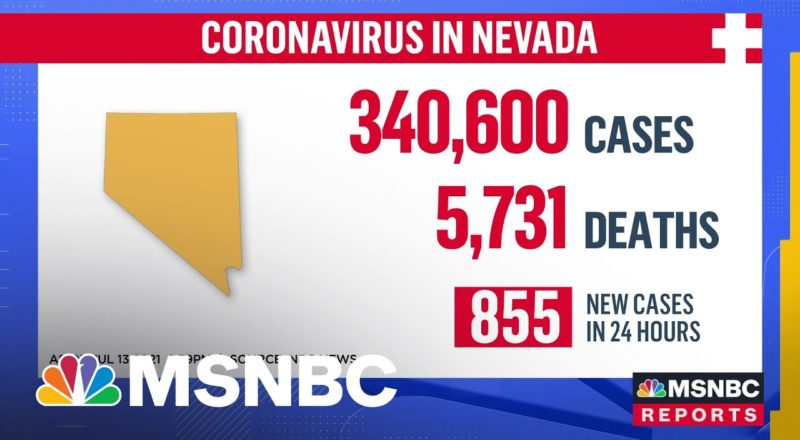 Covid-19 Delta Variant Surges In Nevada 1