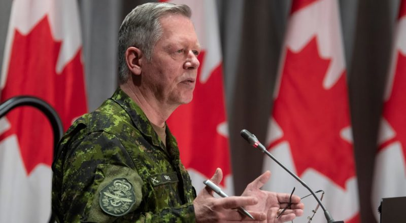Former chief of defence staff Gen. Jonathan Vance charged with obstruction of justice, CAF announces 1