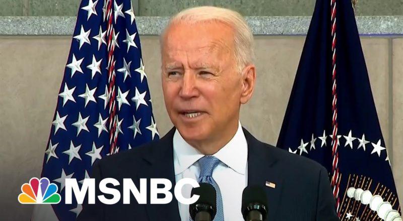 "President Biden Calls Out Trump's ""Big Lie"" 5"