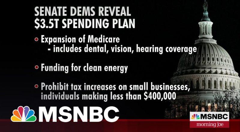 Senate Democrats Reveal $3.5 Trillion Spending Plan 1