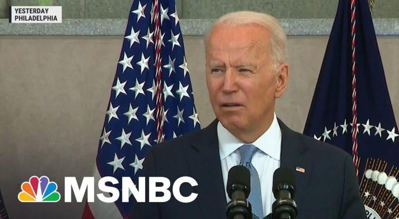 President Biden Implores Congress To Counter Republican Voting Laws 1