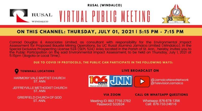 RUSAL (WINDALCO) Virtual Public Meeting 9