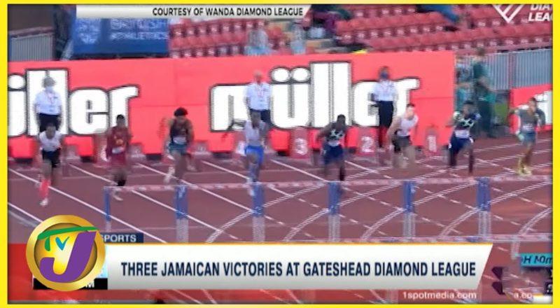 3 Jamaican Victories at Gateshead Diamond League - July 13 2021 1