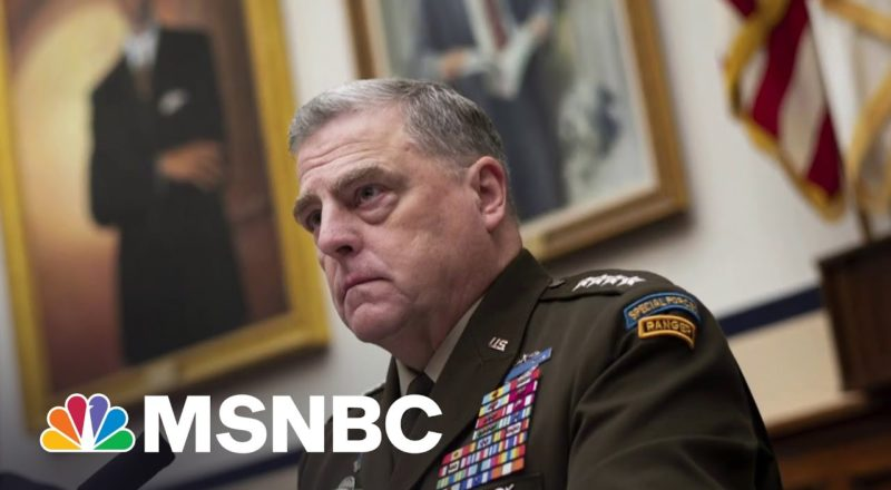 'History Will Be Kind' To Mark Milley Says Gen. McCaffrey 3