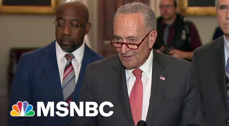 Schumer Sets New Deadlines For Infrastructure Deal 1