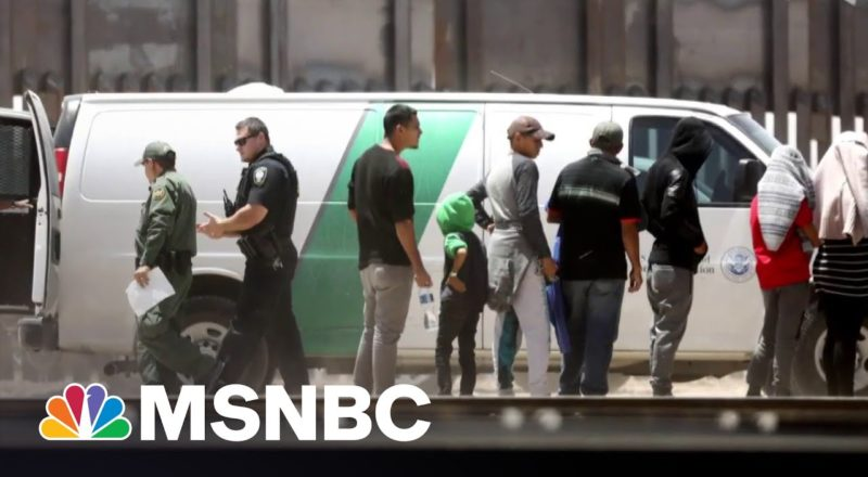 More Than 188,000 Migrants Were Picked Up At US-Mexico Border In June 3