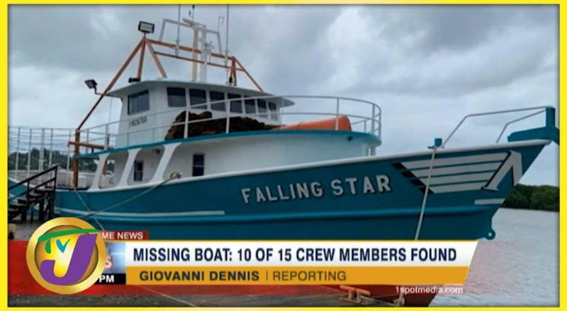 Missing Jamaican Fishing Boat   10 of 15 Honduran Crew Members Found   TVJ News - July 15 2021 1