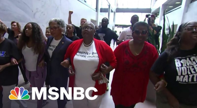 Voting Rights Activists Vow To Be Relentless In Their Fight 2