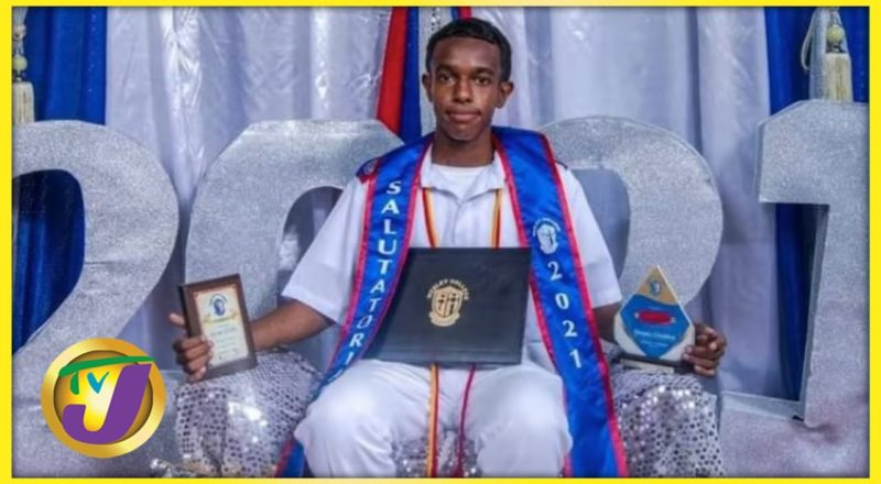 Outstanding Belize Student Defies the Odds Dennis Gladden   TVJ Smile Jamaica 1