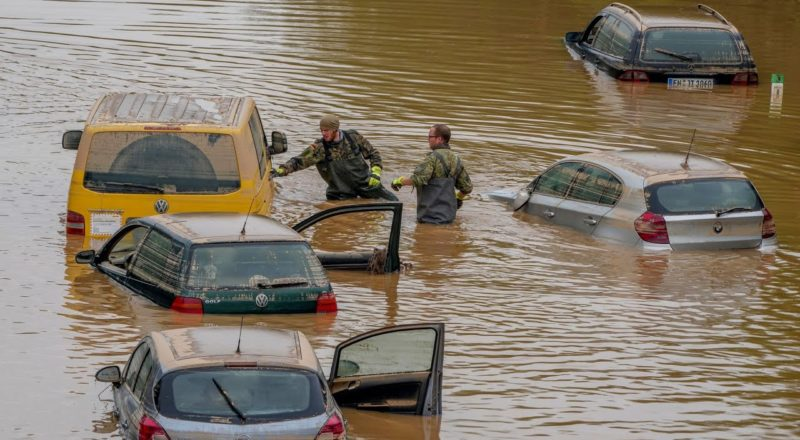 Frantic search for survivors after deadly floods ravage Europe | CTV National News 3