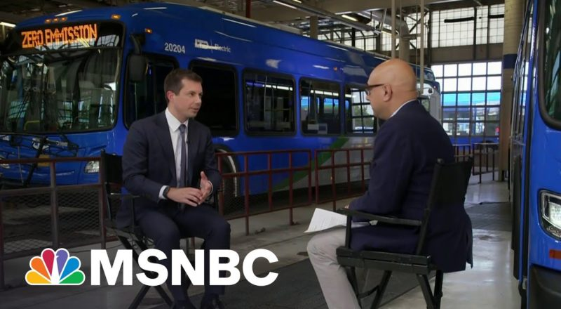 Sec. Buttigieg: It's Washington That Seems To Have A Problem With Human Infrastructure 9