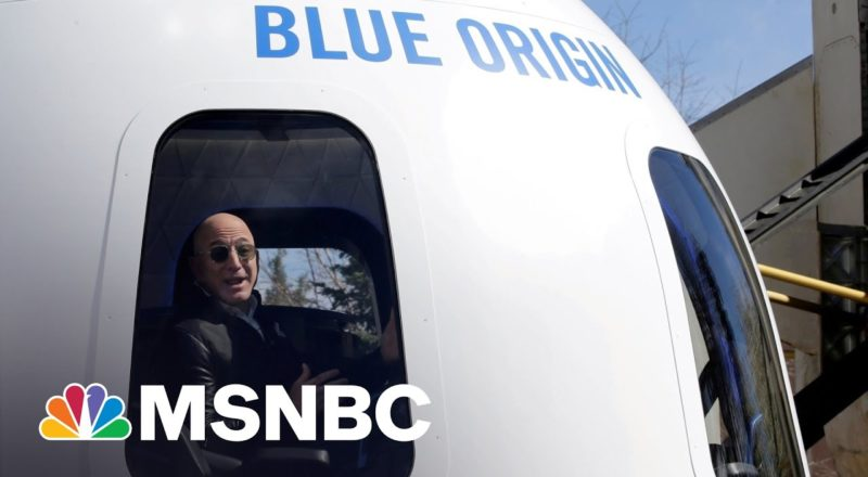 Billionaire Jeff Bezos Set To Launch Into Space Aboard Blue Origin Rocket 1