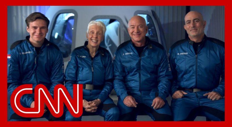 CNN speaks with Jeff Bezos ahead of space flight 3