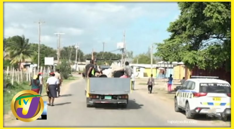 Gang Violence in Canaan Heights, Clarendon Jamaica | TVJ News - July 17 2021 1
