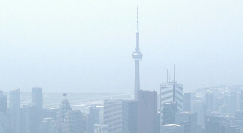 Air quality in Toronto plummets as city blanketed by wildfire smoke, haze 9