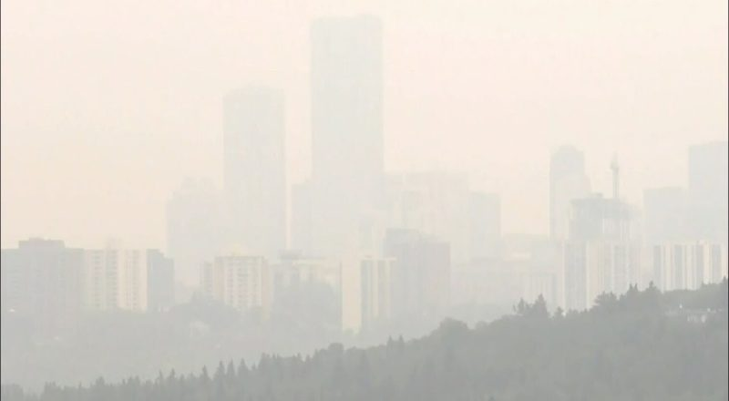 Alberta 'the exhaust pipe of North America': Dave Philips | Wildfire smoke choking Edmonton, Calgary 8