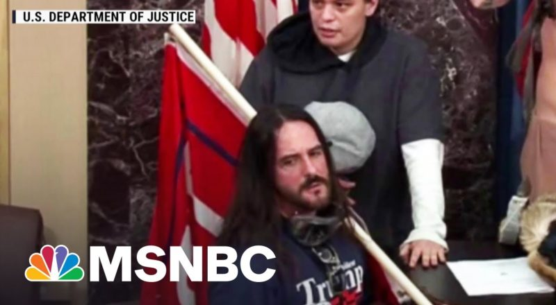 8-Month Sentence For Capitol Insurrectionist 'Sends Wrong Message' Says Legal Expert 1