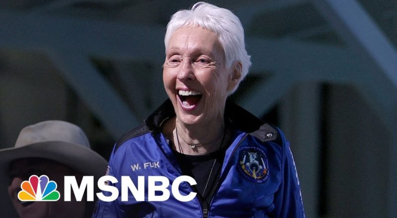 Wally Funk Describes Flight To Space, Oldest Person To Make Journey 7