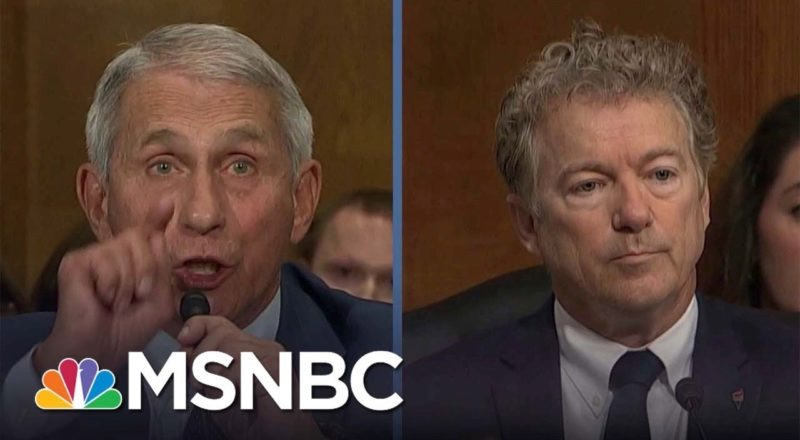 Fauci Blasts Rand Paul: 'You Do Not Know What You're Talking About' 9