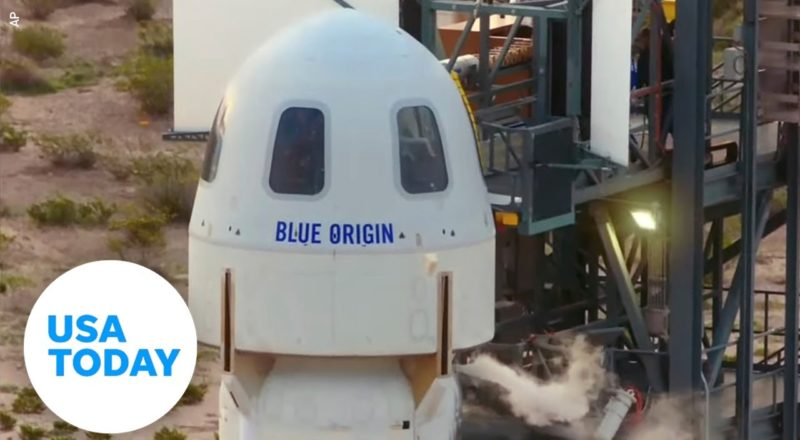 Post-flight press conference with Blue Origin's first astronaut crew   USA TODAY 5