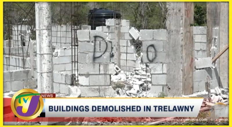 Buildings Demolished in Trelawny   TVJ News - July 18 2021 7