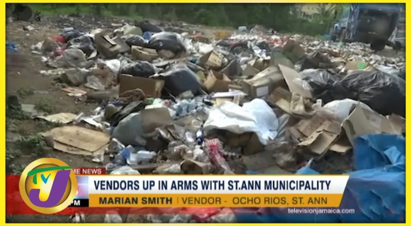 Vendors up in Arms with St. Ann Municipality   TVJ News - July 18 2021 5