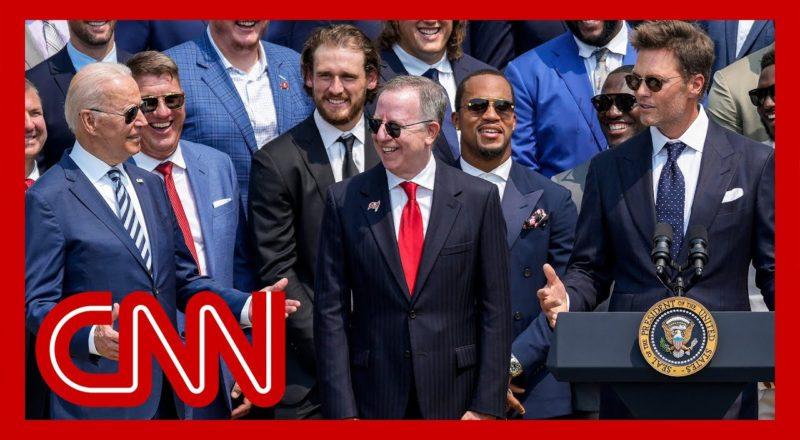 Tom Brady cracks joke about election denial at White House 1