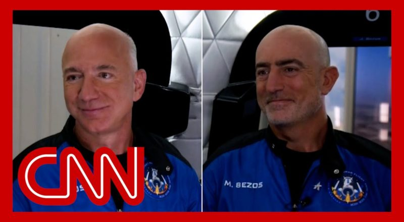 Jeff Bezos reveals what the crew talked about before liftoff 9