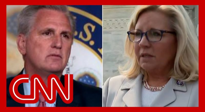 'Disgraceful': Liz Cheney calls out leader of her own party 1