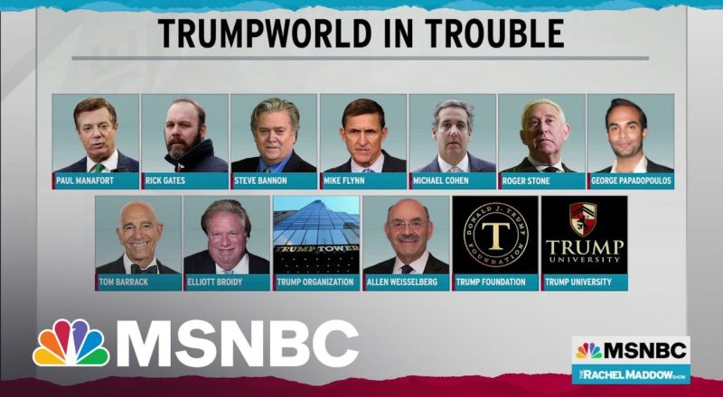 Extent Of Trumpworld Legal Trouble Defies Precedent In U.S., Maybe Anywhere 7
