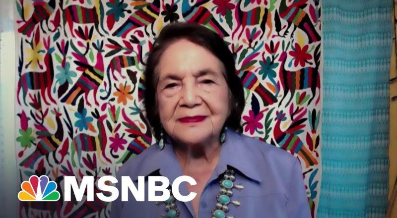 Labor Leader Dolores Huerta Praises 'Courageous' Activism Of Texas Dems 1
