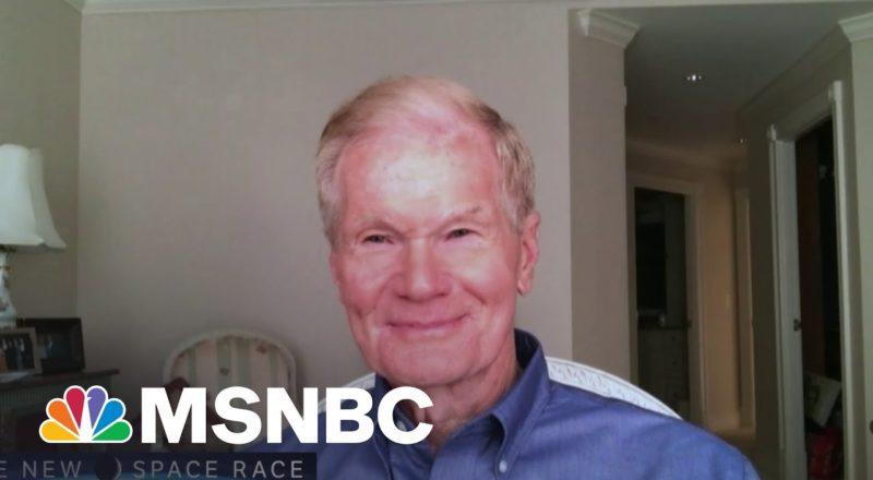 NASA Administrator Bill Nelson Reacts To Blue Origin Flight   MSNBC 2