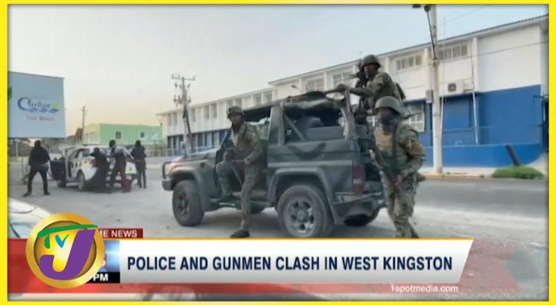 Police & Gunmen Clash in West Kingston Jamaica | TVJ News - July 20 2021 1