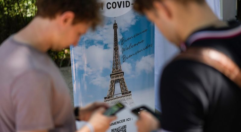 You will have to be vaccinated to go to certain places in France   New COVID-19 rules in Europe 1