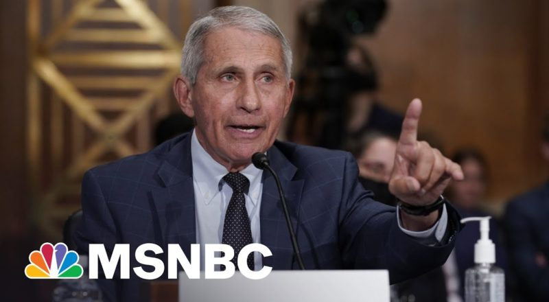 New Fauci Warning: Current Covid-19 Deaths Are The Unvaccinated | MSNBC 1