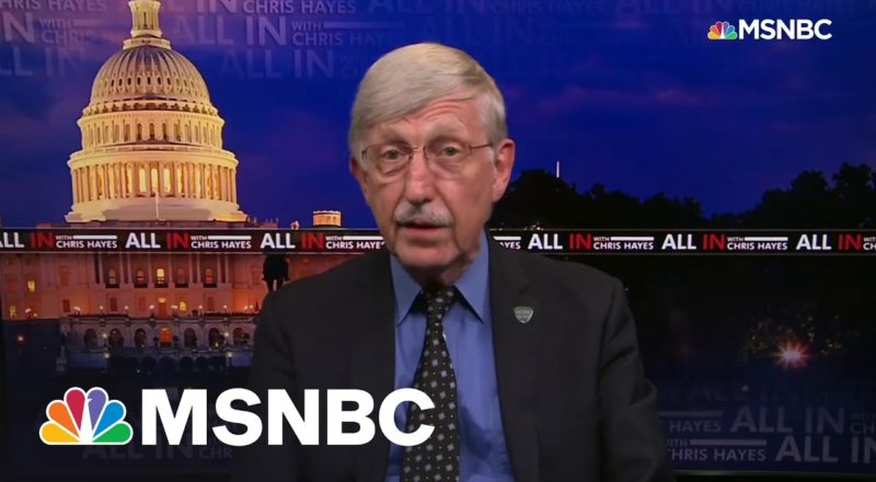 NIH Director: 'If You're Unvaccinated, This Virus Is Looking For You' 1
