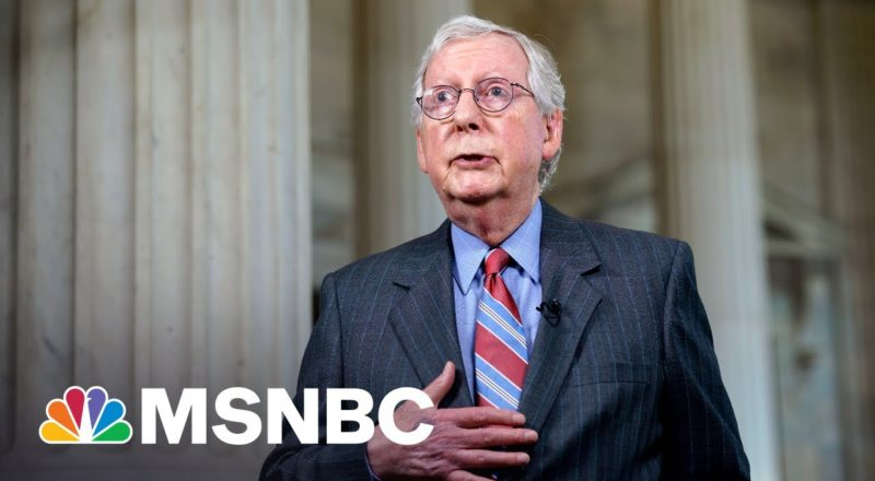 McConnell Is 'Playing With Matches' By Not Supporting To Raise The Debt 1