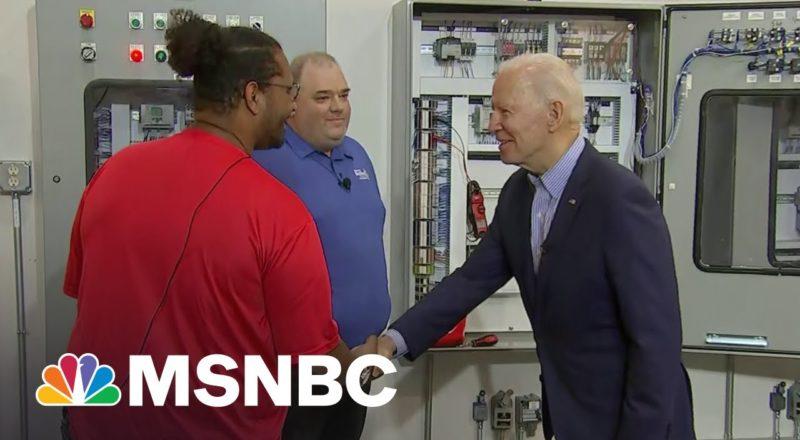 Pres. Biden Visits Ohio To Promote His Infrastructure Plan | MSNBC 1