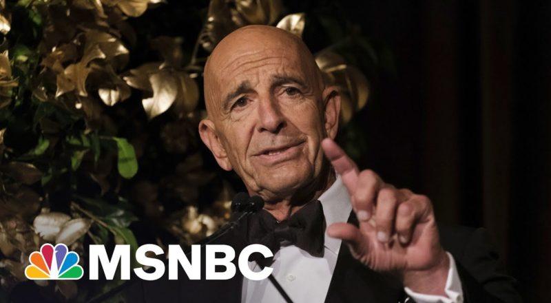 DOJ Under Trump Sat On Tom Barrack Indictment: CNN Report 1